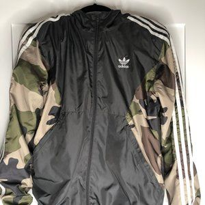 Adidas Camouflages Windbreaker